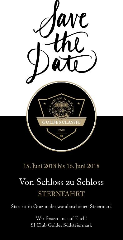 Goldes Classic Save the date